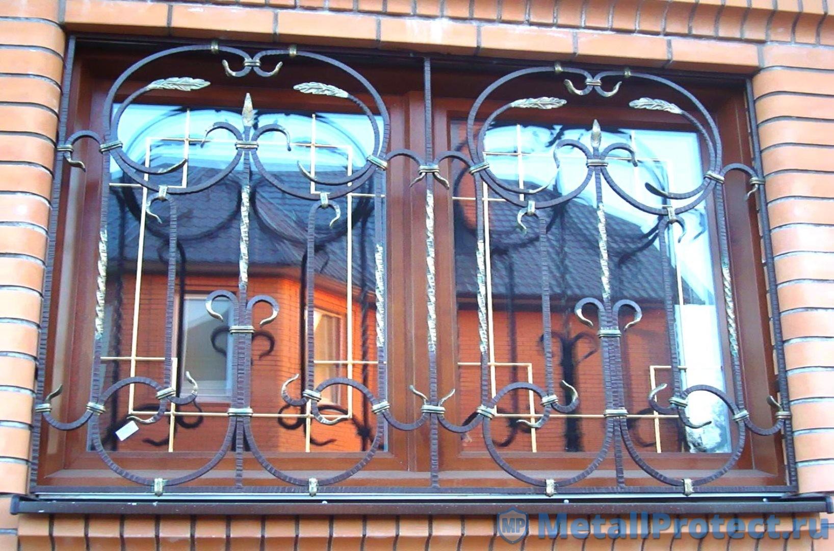 Технические характеристики решеток на окна