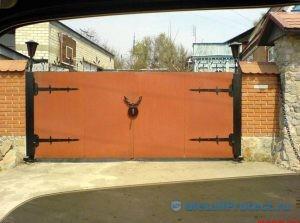 Ворота откатного типа – плюсы и минусы