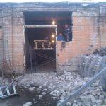 Подъём балки гаражных ворот04