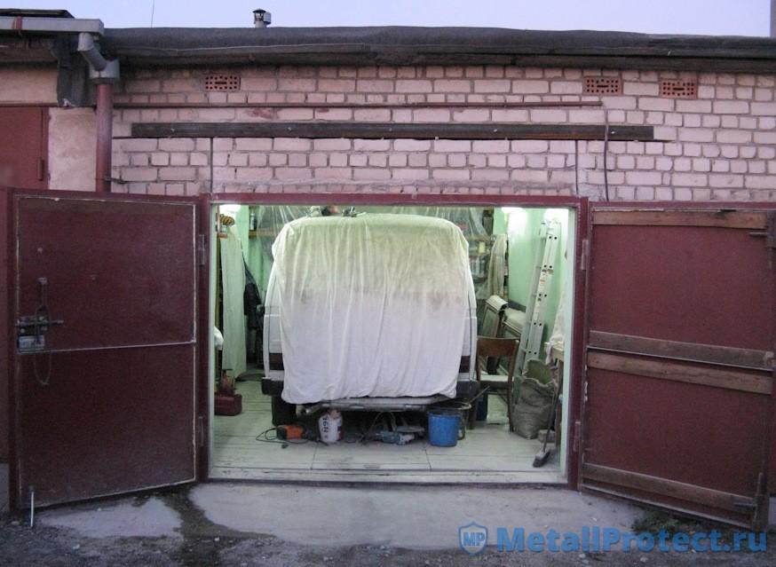 Увеличение высоты гаражных ворот