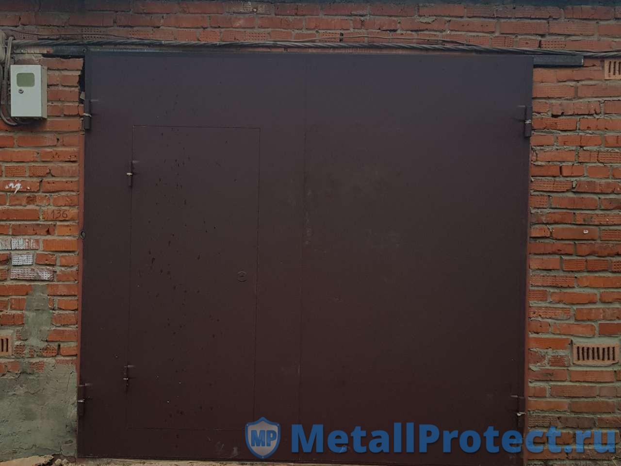 Металлические ворота Металл протект