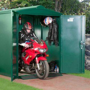 Гаражные ворота ВГМП – 001, для мотоцикла, без калитки